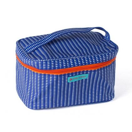 vanity case Milano blue