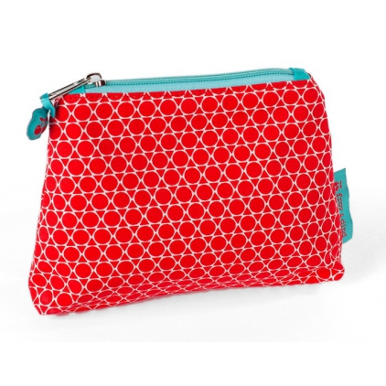 Trousse de maquillage zipper Honey poppy