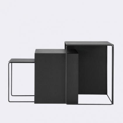 Cluster tables set of 3