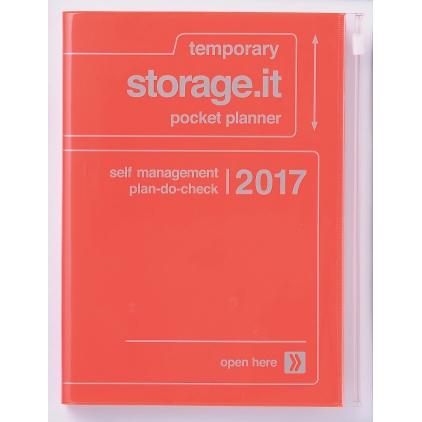 Agenda A5  Storage it orange