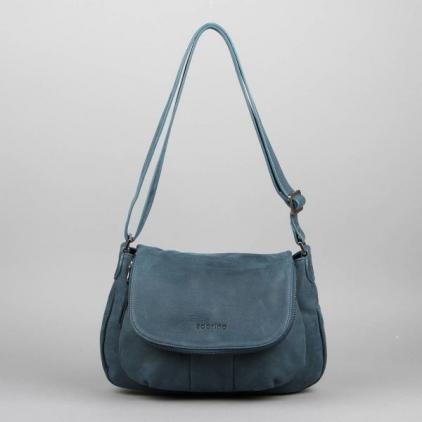 Claudine - sac cuir vachette Denim