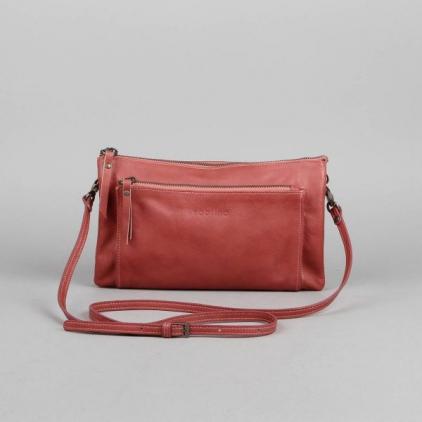 Mélanie - sac cuir vachette - rose antique