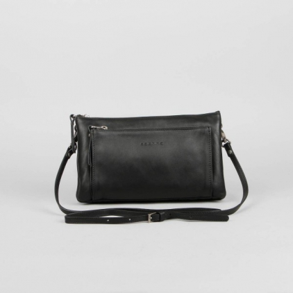 Mélanie - sac cuir vachette noir