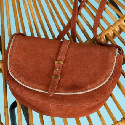 Solal sac en cuir moyen format terre