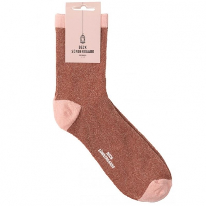Chaussettes Dina Solid light berry