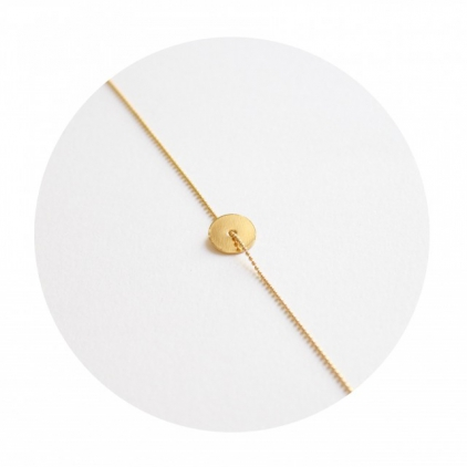 Bracelet cible or jaune