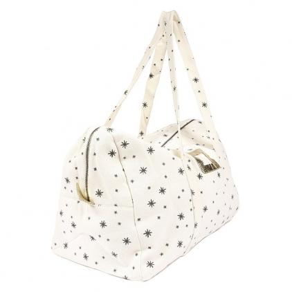 Week-end bag small Manuel star grey