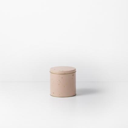 Confetti tin box - S nude