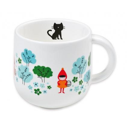 Mug en porcelaine Chaperon rouge Bandjo