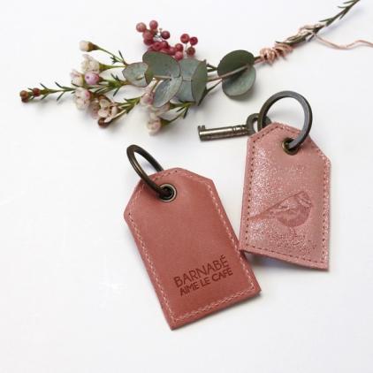 Porte-clef terracota