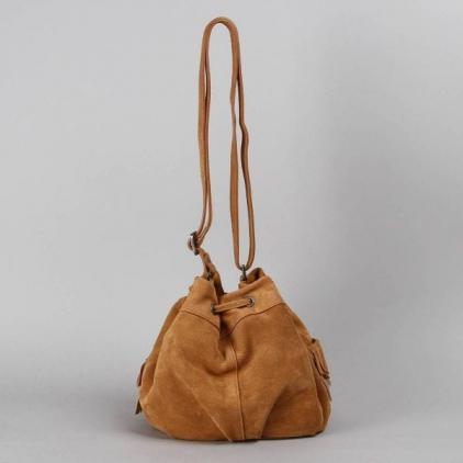 Anouk - sac en daim camel