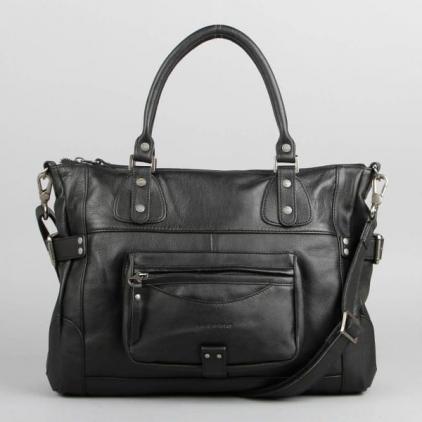 Camille - sac en cuir noir