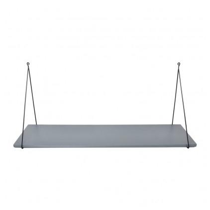 Etagère Babou 1 - 24 x 85 x 33 cm gris ciment