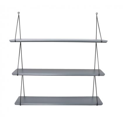 Etagère Babou 3 - 14 x 66 x 69 cm gris ciment