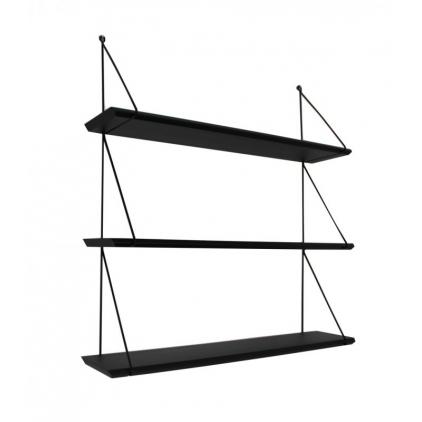 Etagère Babou 3 - 14 x 66 x 69 cm noir
