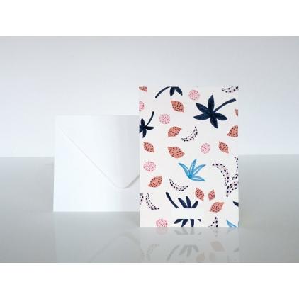 Carte postale tutti frutti
