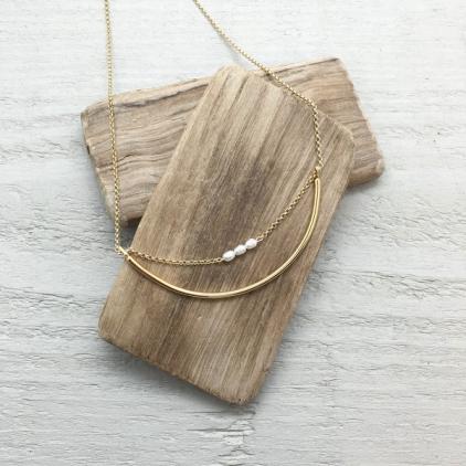 Collier court Clara - 10246 amulette