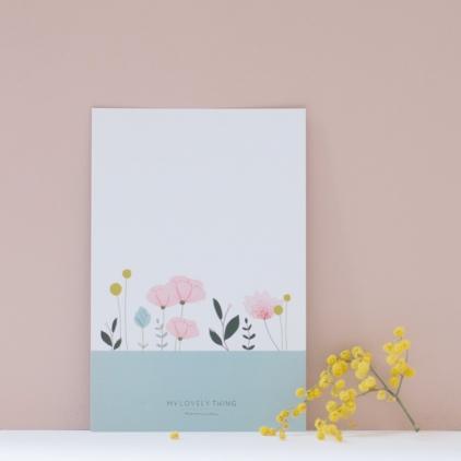 Carte postale Jardin sur l'eau