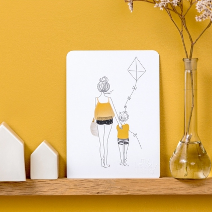 Carte postale Balade