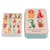 Boîte métalique jeu de cartes Colourful Creatures