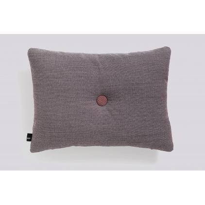 Coussin Dot surface greyish burgundy