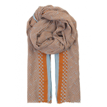 Foulard Paquet Russet Orange
