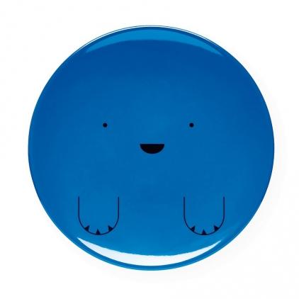 Assiettes animaux - bleu foncé