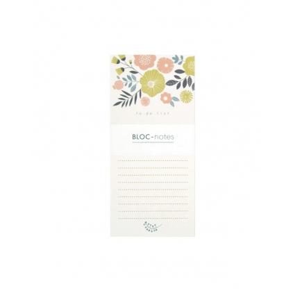 Bloc note bouquet
