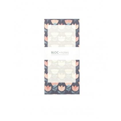 Bloc note tulipe