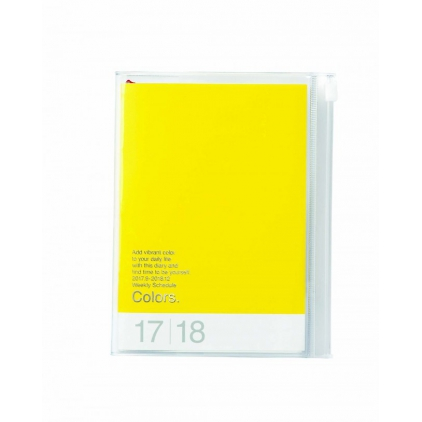 Agenda Colors A6 Yellow