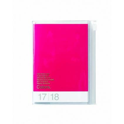 Agenda Colors A6 Framboise