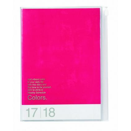 Agenda Colors A5 Framboise