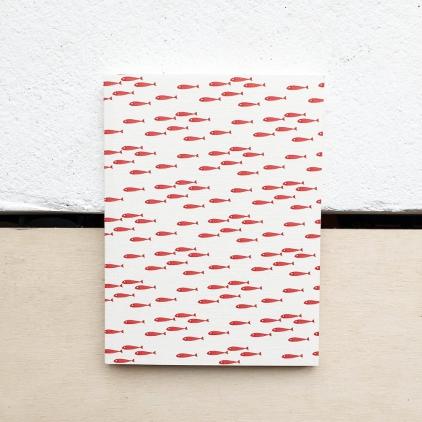 Petit carnet Poissons rouges