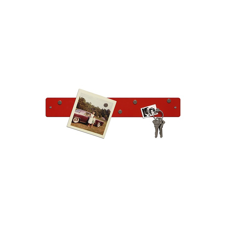 Magnetic strip 5 x 35,5 cm rouge