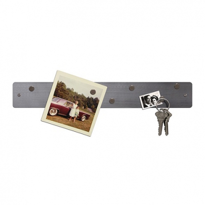 Magnetic strip 5 x 35,5 cm acier