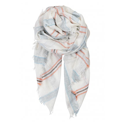 Foulard Trion Nutmeg white