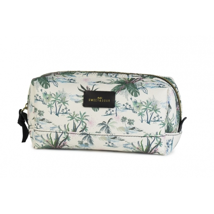 Trousse make-up palm tree medium