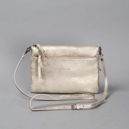 Sophie - sac cuir or clair