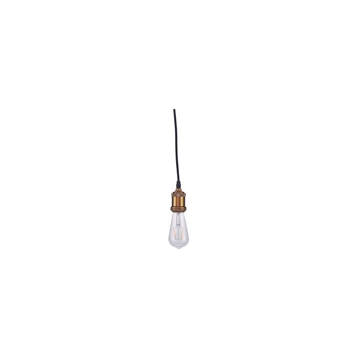 Led bulb clear decoration 146 x 65 mm E27 2 watt