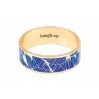 Bracelet Joy métal doré - bleu faïence