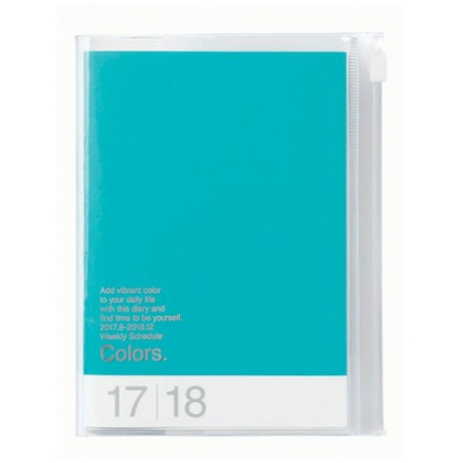 Agenda Colors A5 Turquoise