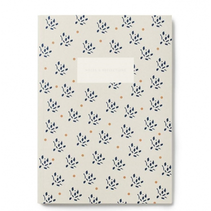 Small notebook - floral sand