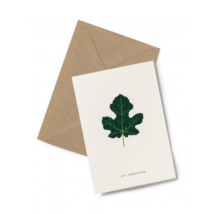 Greeting card - Fig