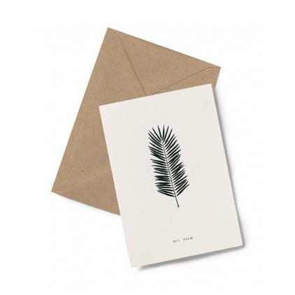 Greeting card - Palm