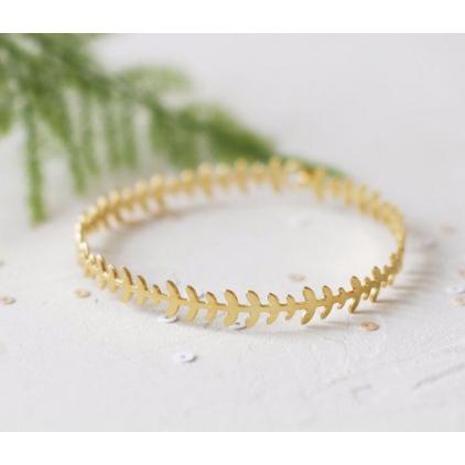 Bracelet - Geo bracelet gold