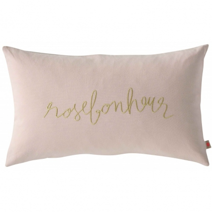 Cushion cover Rose Bonheur Biscuit 30