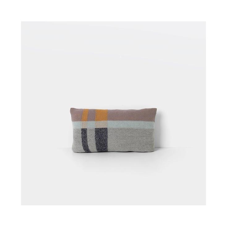 Medley knit cushion - mint - small