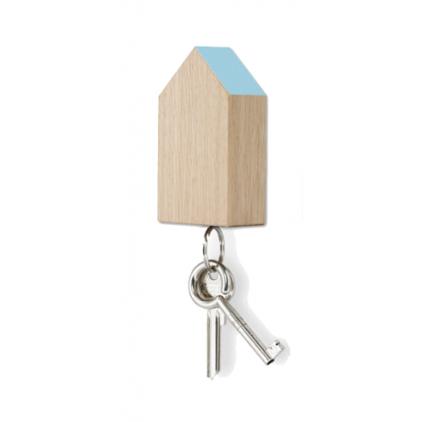 Key House magnetic oak - blue