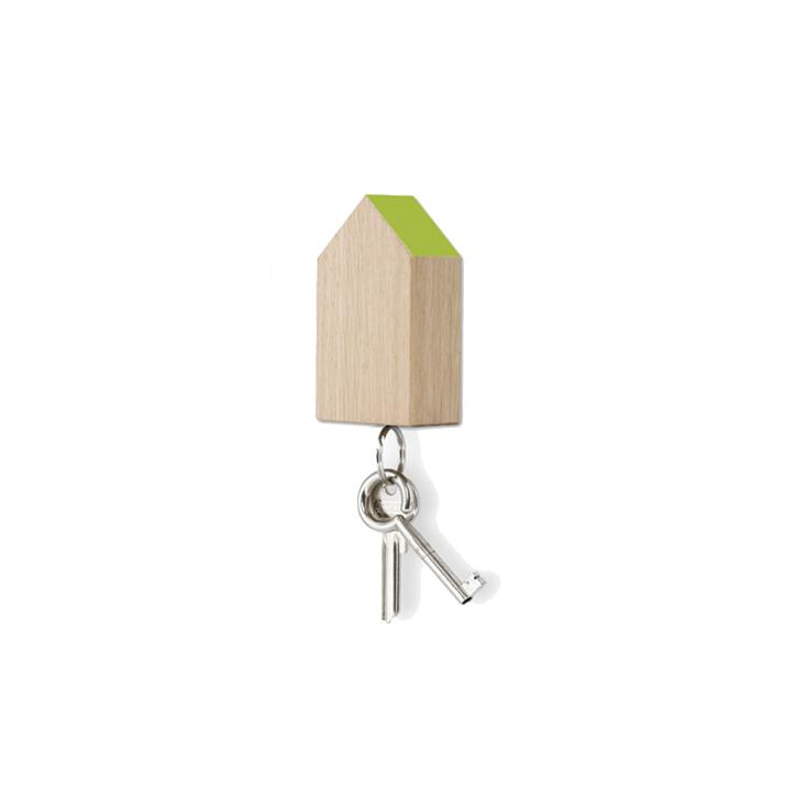 Key House magnetic oak - green