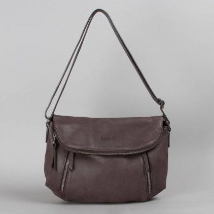 Cassiopée - sac cuir ardoise
